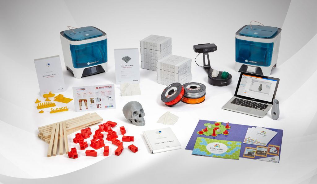 A treasure trove of 3D printing activities and tools. Photo via PrintLab