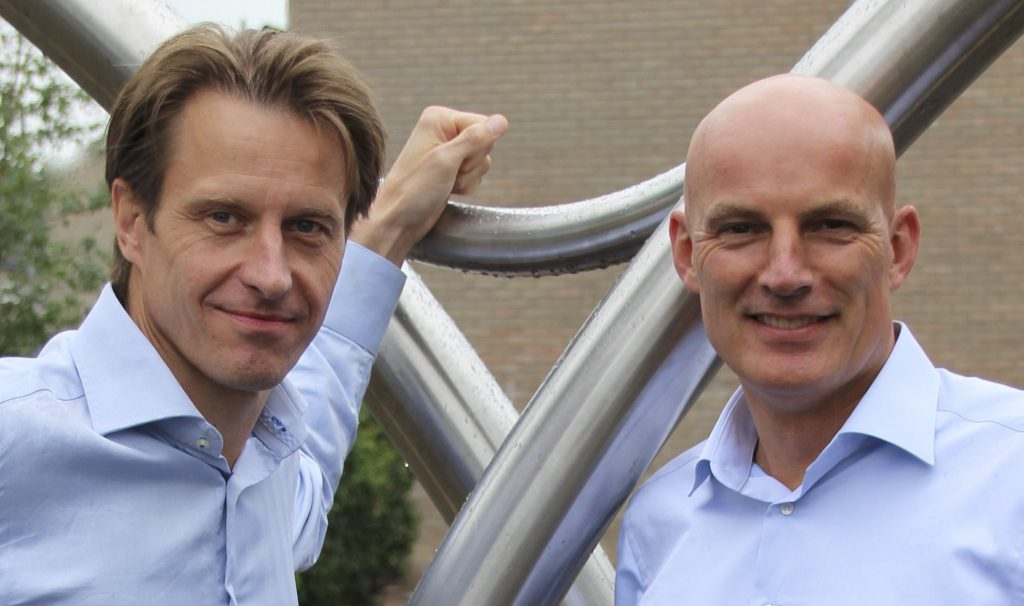 DiManEx founders Tibor van Melsem Kocsis and Pieter Ruijssenaars. Photo via DiManEx Team