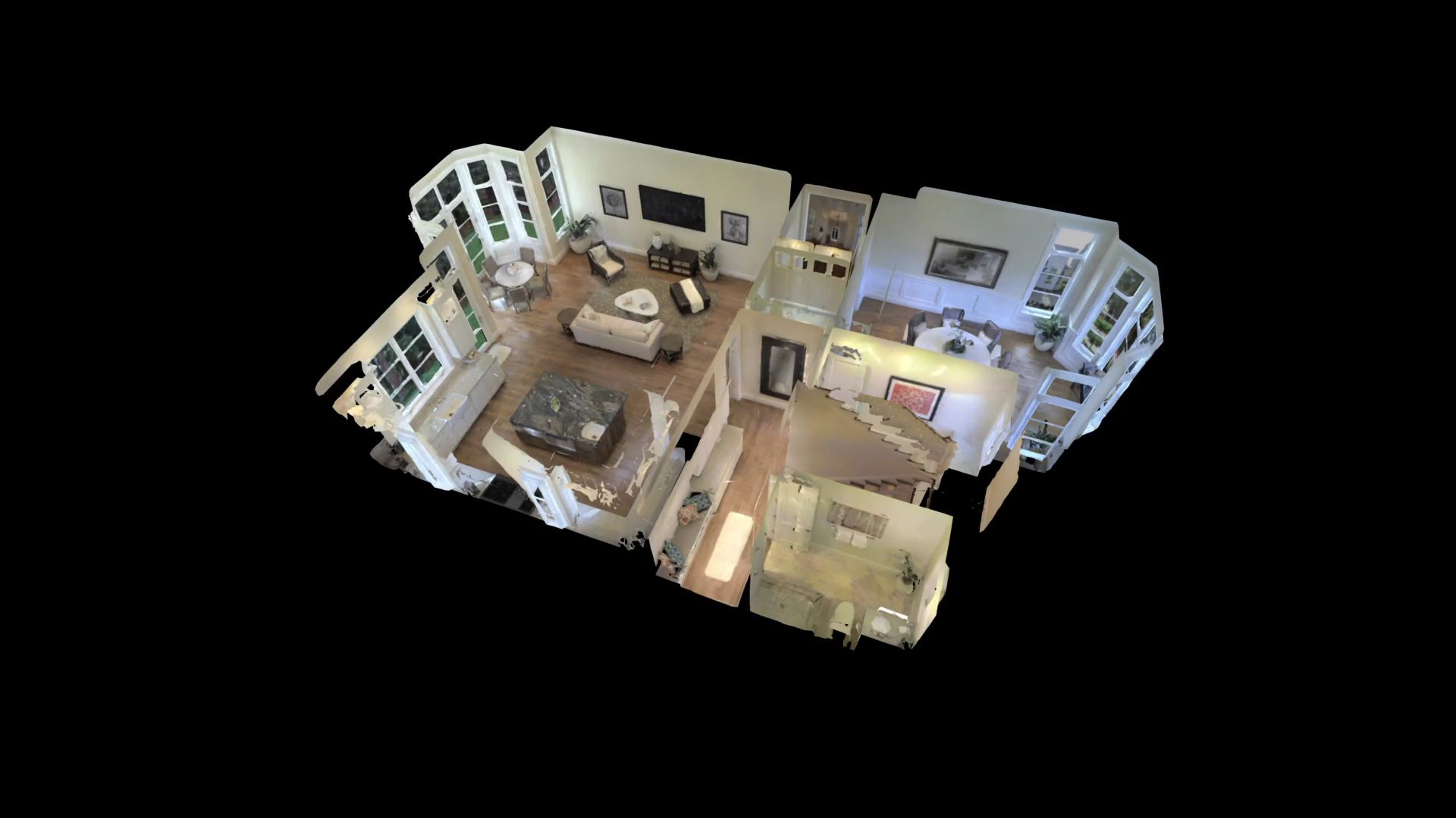 A fully rendered 3D interior captured by the Pro2 3D camera. Image via Pinterest