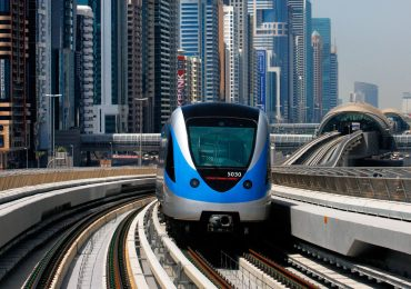 Dubai Metro train Photo via Careem USA