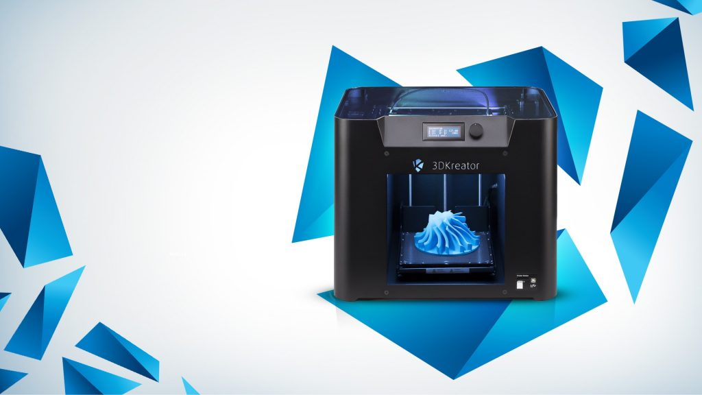 A Creator Motion 3D printer as used in the SajTom Light Future study. Image via 3DKreator