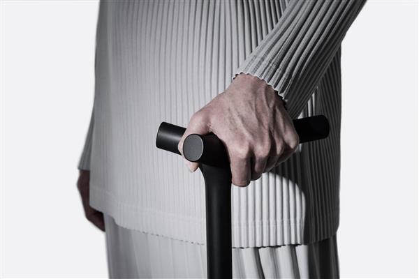 Shiro Studio's ENEA 3D printed walking stick. Photo via Shiro-Studio