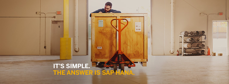 Making digital simple. SAP's goals with SAP S/4HANA. Image via SAP on Facebook