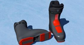 Tailored Fits produce custom ski boots with Materialise. Image via Materialise