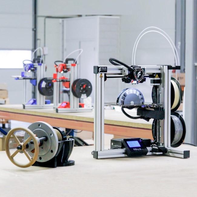 The FELIX Tec 4 printer. Photo via FELIXprinters. Photo via FELIXprinters