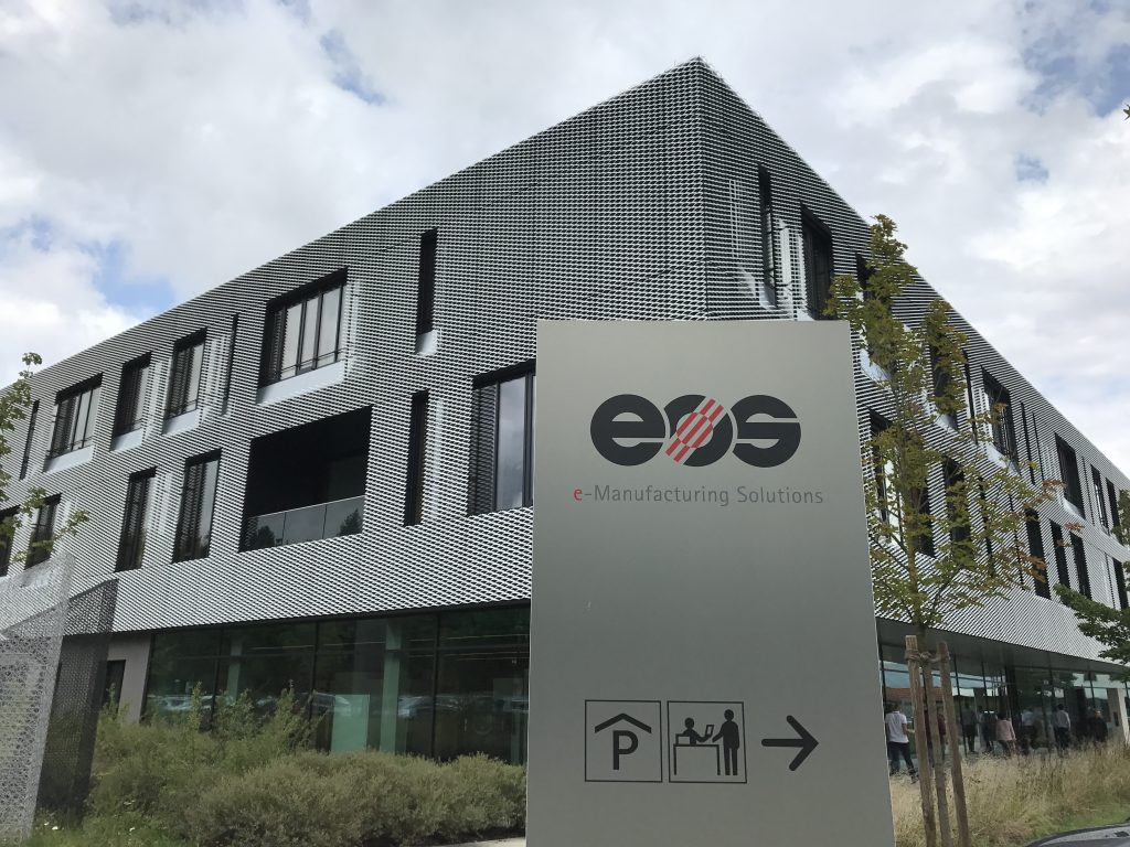 EOS Customer & Technology Center in Krailling, Germany. Photo by Beau Jackson for 3D Printing Industry