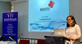 Lisa Elviri from M3DATEK printed medical solutions.