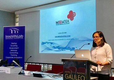 Lisa Elviri from M3DATEK printed medical solutions.
