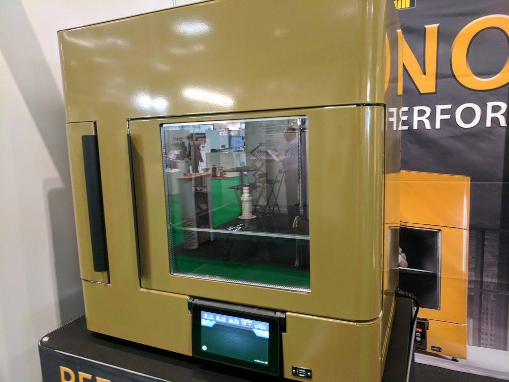 MiniFactory Innovator 2 high performance 3D printer. Photo by Michael Petch.
