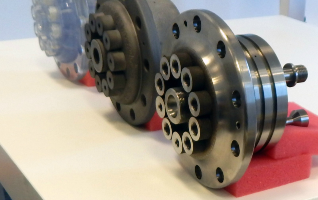 Safer Plug's additive manufactured gateway manifold.