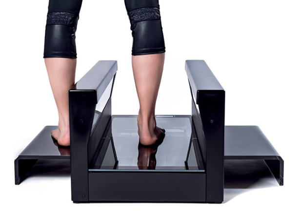 The custom Tiger foot 3D scanner from rs scan International. Image via rs scan