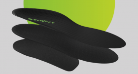 Superfeet's ME3D insole range powered by HP. Image via Superfeet
