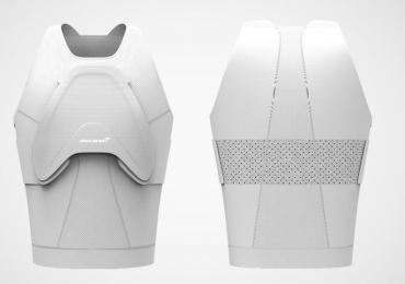 The final Project Invisible breastplate. Image via Maclaren Applied Technologies.