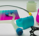 The multicolored and multi-purpose applications of Agilus 30. Photo via Youtube/Stratasys.