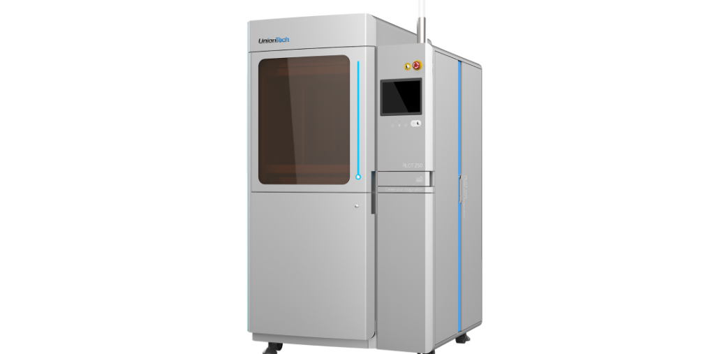 Union Tech's PILOT 250 commercial SLA 3D printer. Image via Union Tech