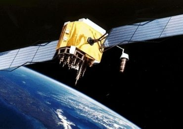 Simulation of the GSAT-19 in space. Photo via DNA India