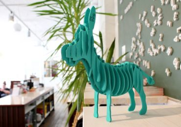 Don the Donkey - an example of a customised mything design. Photo via: mything