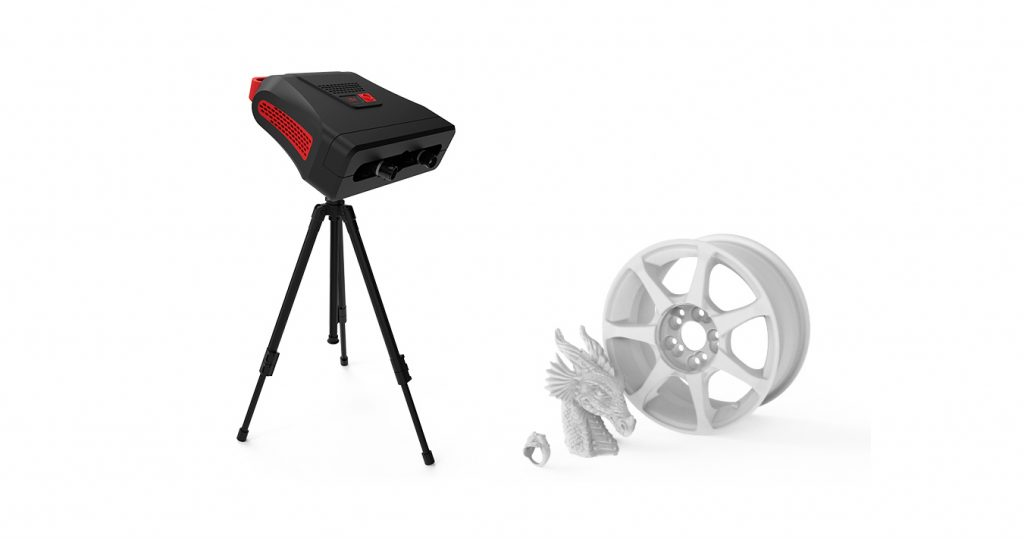 RangeVision's Pro 2M tripod 3D scanner. Image via RangeVision