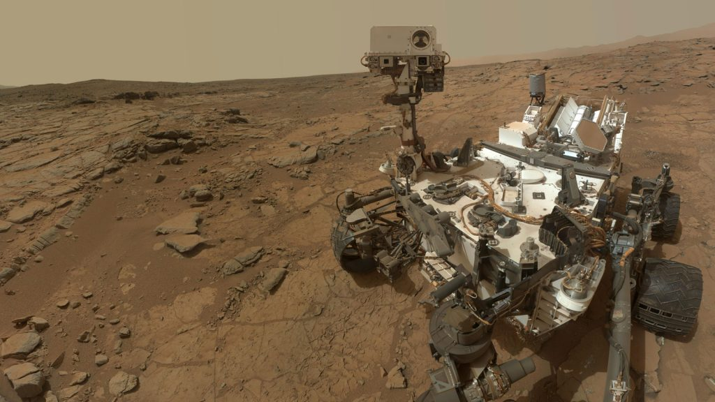 #selfie from the Mars Curiosity Rover. Image via NASA/JPL-Caltech/MSSS