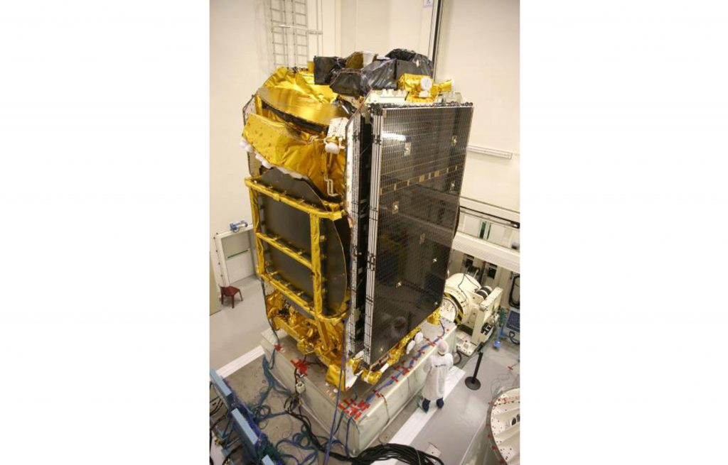 The EUTELSAT 172B satellite pre-launch. Photo via Airbus Defence and Space