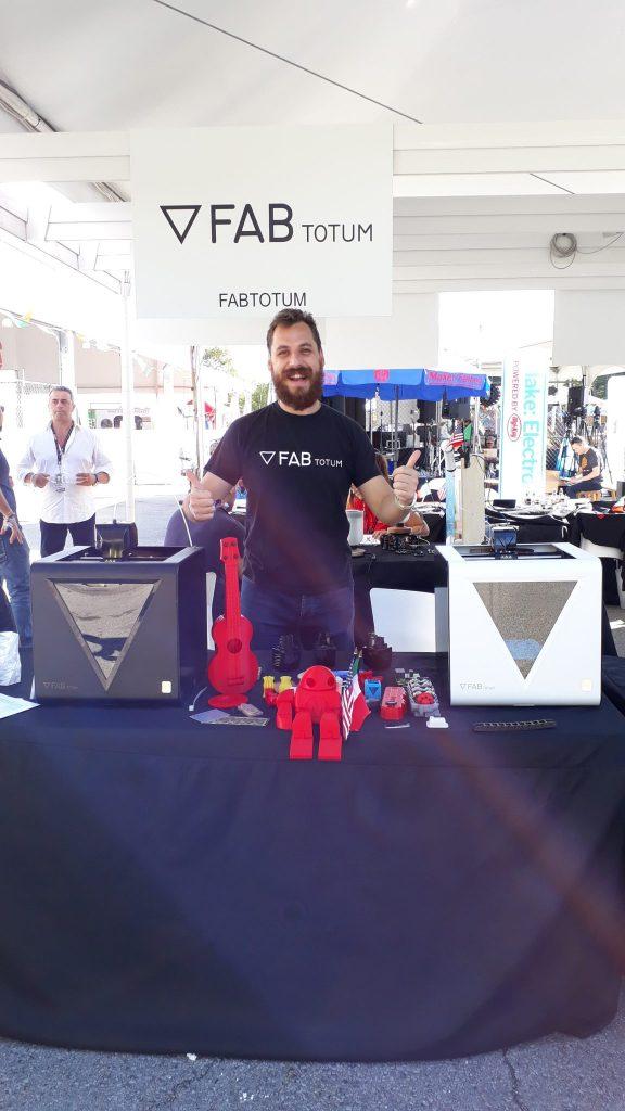 FABtotum at NYC Maker Faire 2017. Photo via FABtotum.