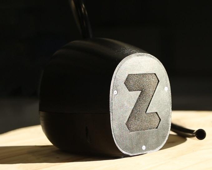 The Zimpure FDM 3D printer air filtration system. Photo via Zimple