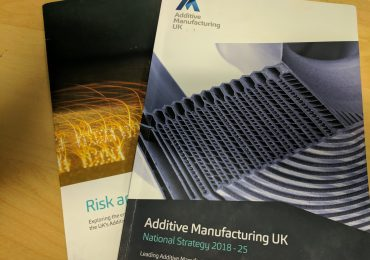 Additive Manufacturing UK National Strategy 2018-25. Photo by Michael Petch.