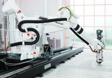 The Aectual XL 3D Printing Robot. Photo via Aectual.