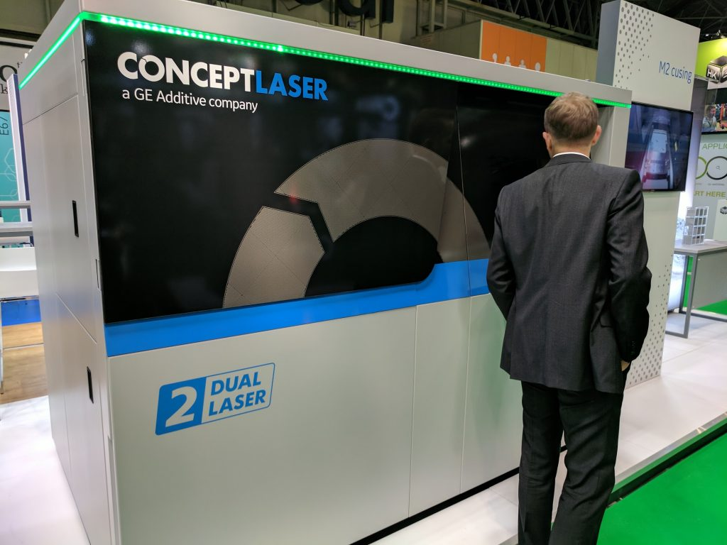 Concept Laser M2 Cusing metal additive system. Photo by Michael Petch.