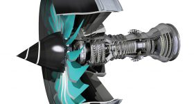 Schematic of the Rolls-Royce Ultrafan jet engine. Image via Rolls-Royce