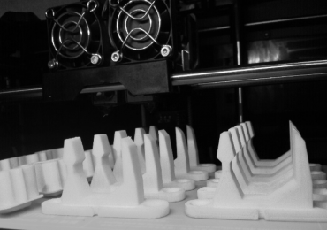 FFF printed spare parts. Photo via Spare Parts 3D.
