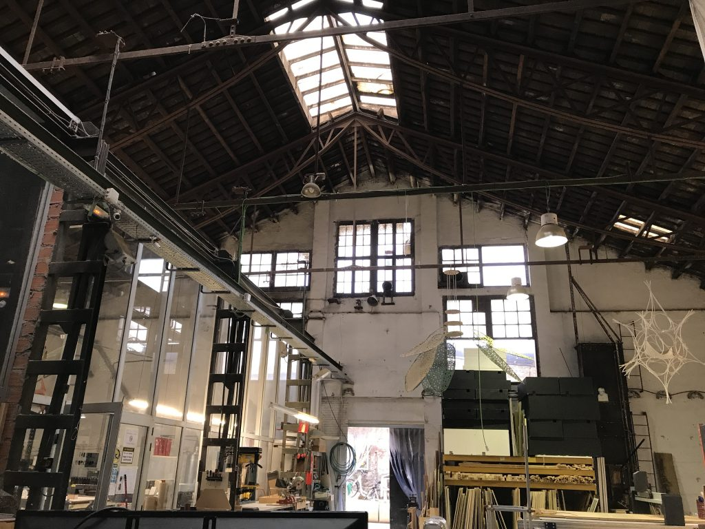Inside the Fab Lab BCN/Iaac workshop. Photo by Beau Jackson for 3D Printing Industry