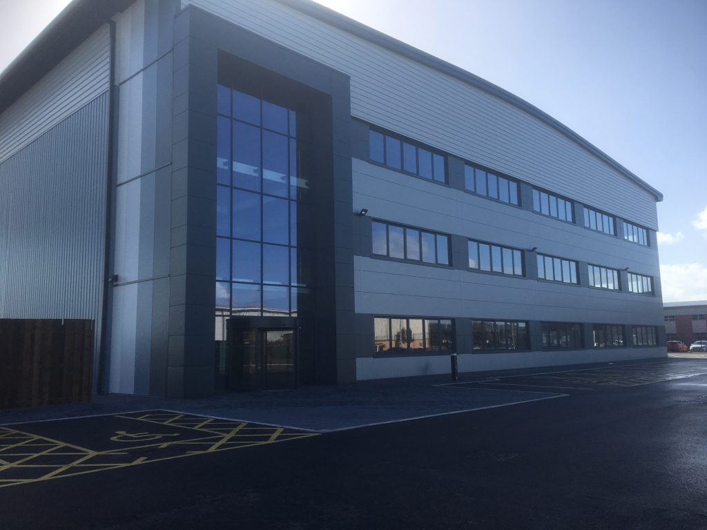 LPW's new £90 million additive manufacturing HQ in Widnes, Cheshire. Photo via LPW.