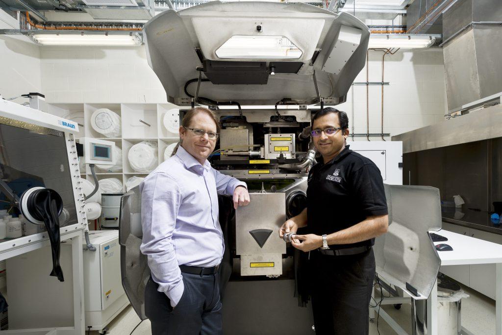Professor Andre Luiten, IPAS Director and Mr Lijesh Thomas
