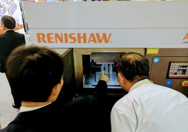 Renishaw Metal 3D Printer. Photo by Michael Petch.