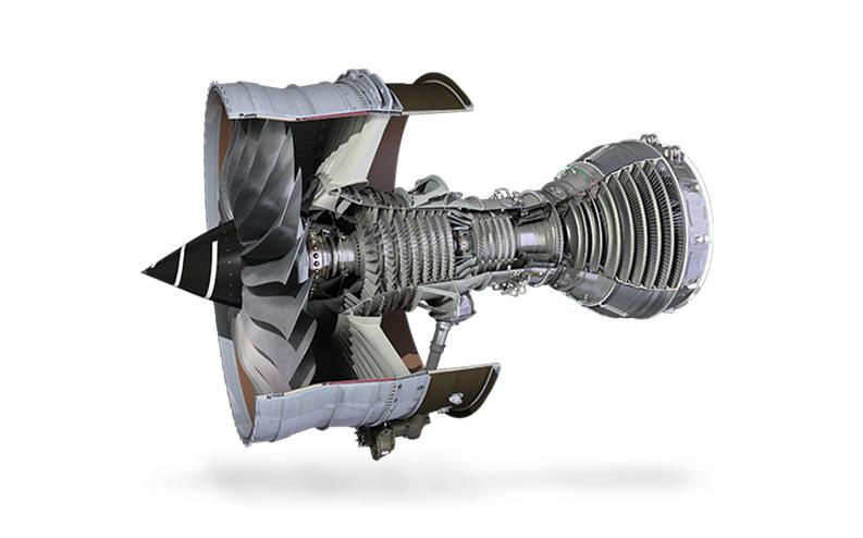 A cross section of a jet engine showing blisks. Image via Rolls Royce.