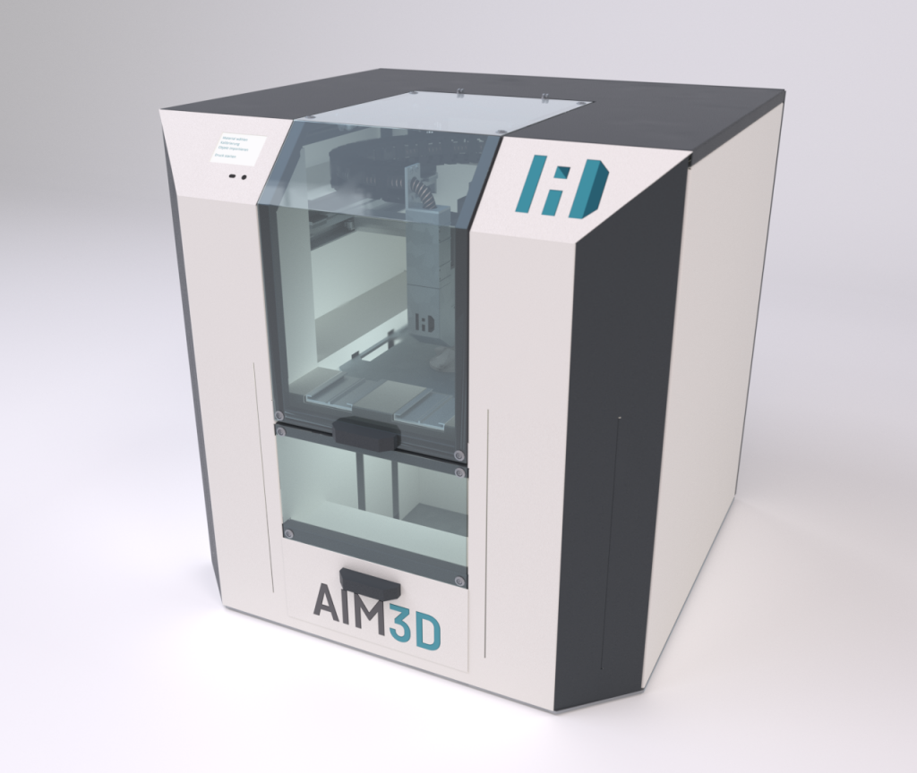 An AIM3D CEM machine. Photo via AIM3D.