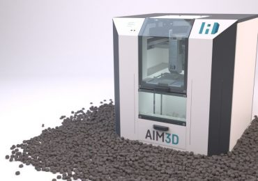 the ExAM255 3D CEM printer with pellets