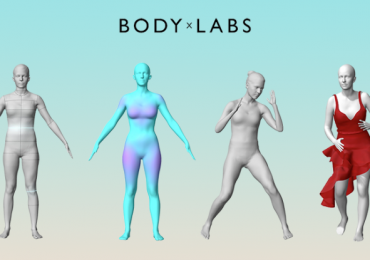 Stages of the Body Labs capture process. Image via Body Labs