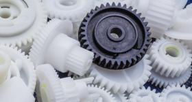 A selection of 3D printed mechanical parts. Photo via Spare Parts 3D.