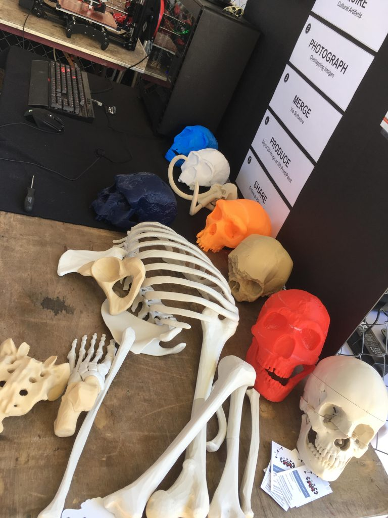 Photogrammetry Today at NYC Maker Faire 2017. Photo by Steve Abrams.