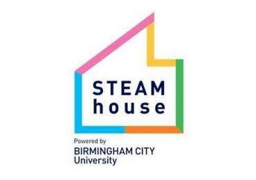 Birmingham City University's STEAMhouse logo. Image via STEAMhouse