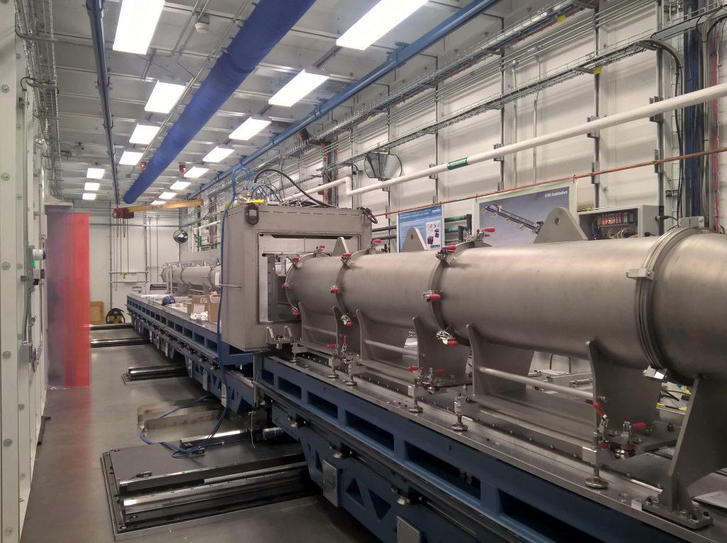 Inside the Synchrotron. Photo via U.S. Air Force/Hilmar Koerner.