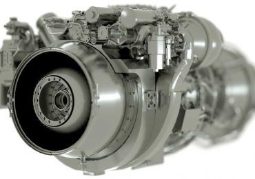 GE Aviation's T901 Turboshaft engine for use inside the U.S. Army's Apache and Black Hawk helicopters. Image via GE Aviation