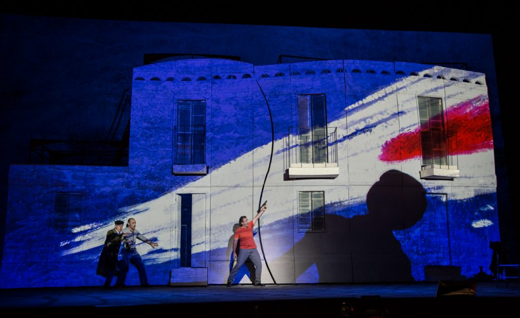 WASP's 3D printed scenery at the Teatro Dell'Opera in Rome. Photo via Wasp/Yasuko Kageyama.