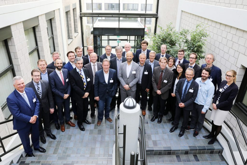 Fraunhofer futureAM partners meet at ILT. Photo by Andreas Steindl/ Fraunhofer ILT, Aachen, Germany