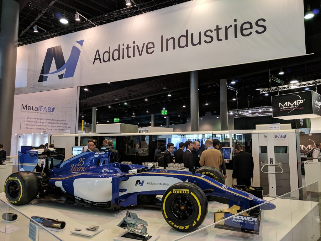 Additive Industries at formnext. Photo by Michael Petch.