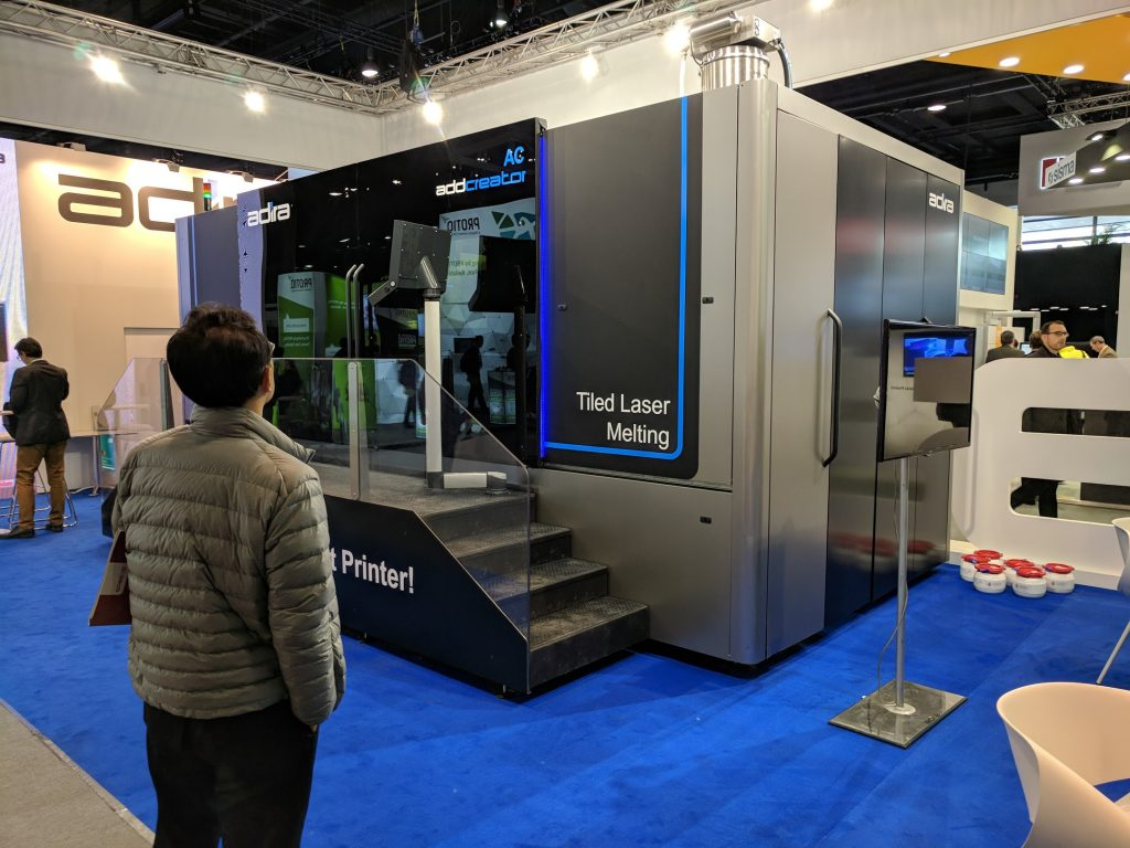 Adira's Addcreator claims to be the World's Largest 3D Printer. Photo by Michael Petch.