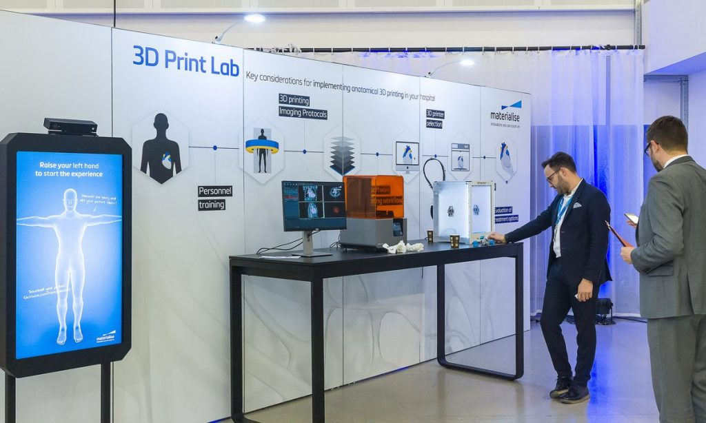 An example 3D Print Lab.. Photo via Materilaise NV