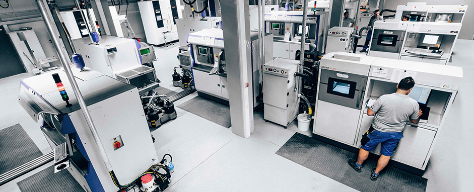 FIT's Additive Manufacturing Centre. Photo via FIT.